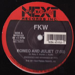 Romeo and Juliet (Single) (1991)