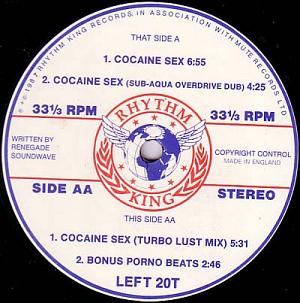 Cocaine Sex (Single) (1987)
